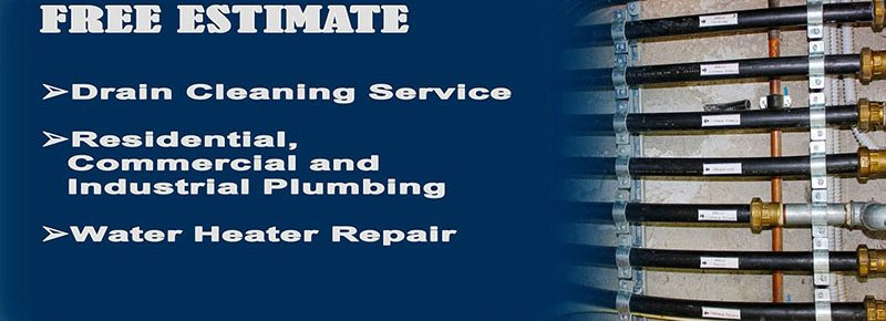 Drain Cleaning Residential Commercial and Industrial Plumbing Water Heater Repair Service